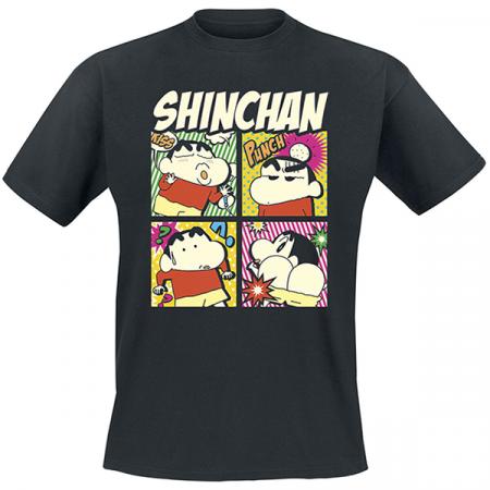 Camiseta adulto hombre Shin chan comic