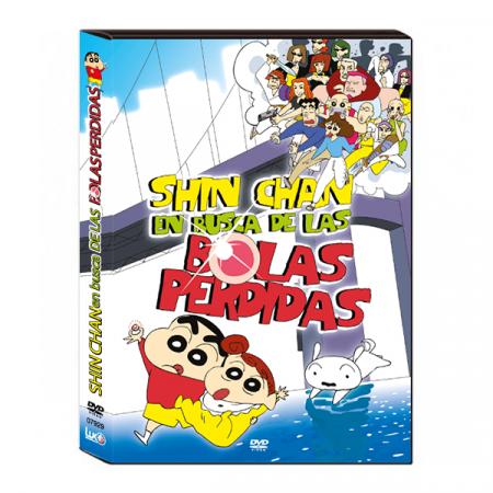 DVD Shin chan en busca de las bolas perdidas