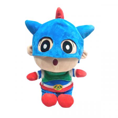 Peluche Shin chan 30 cm superheroe
