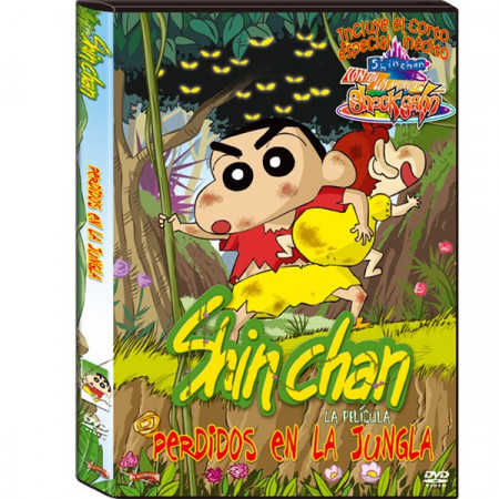 DVD Shin chan Perdidos en la jungla