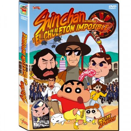 DVD Shin chan y el Chuletón Imposible