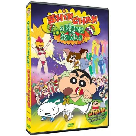 DVD SHIN CHAN A RITMO DE SAMBA