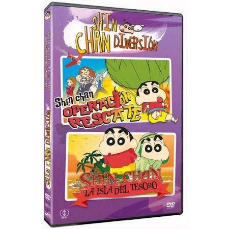 Pack DVD Shin chan Diversión 4